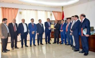 The Kurdistan Federation of the Chambers and Sri Lanka signed a common Protocol for joint Business